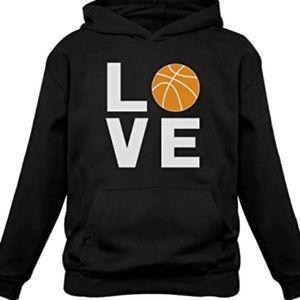 Love Basketball Unisex Custom Made Hoodie